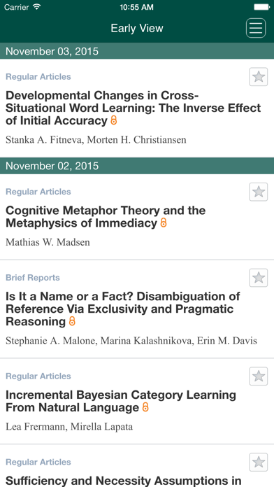 Cognitive Science screenshot three