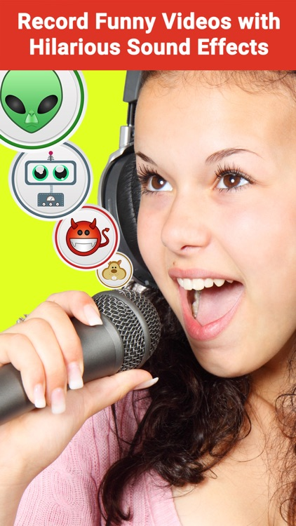 Voice Changer Video Booth with Funny Voice Effect