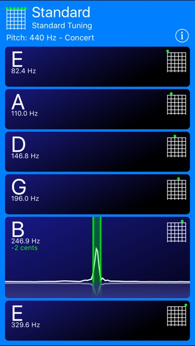 Guitar Tuner review screenshots