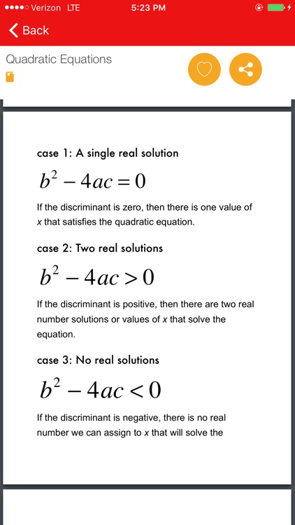 Algebra Study Guide LT screenshot-4