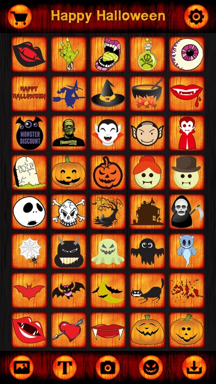 Pro Halloween Cards, Stickers, Frames for Greeting screenshot-4