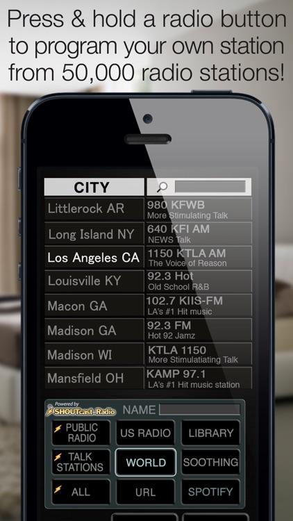 Best Clock Radio Alarm f screenshot-3