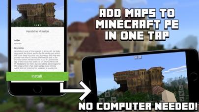 Mansion Maps For Minecraft PE Minecraft Maps Revenue Download - Minecraft maps fur ipad