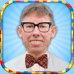 Geek Face Photo Booth: Fun.ny Pic Stickers Editor