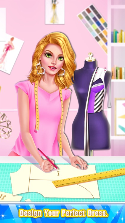 Glam Doll Fashion Designer Dress Maker Game By Salon