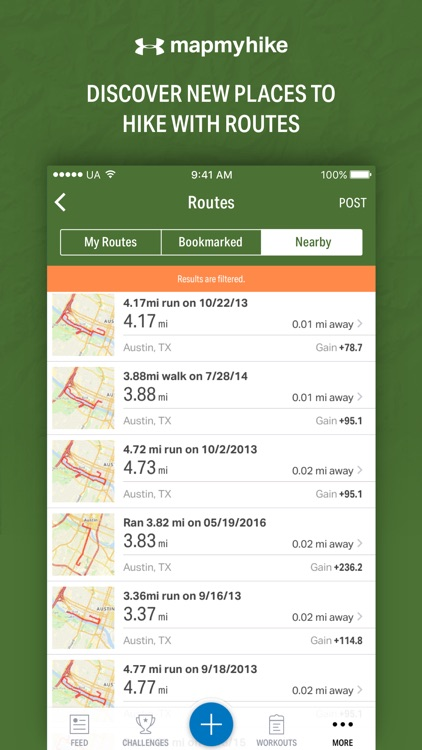 Map My Hike - GPS Hiking Tracker & Trail Finder app image