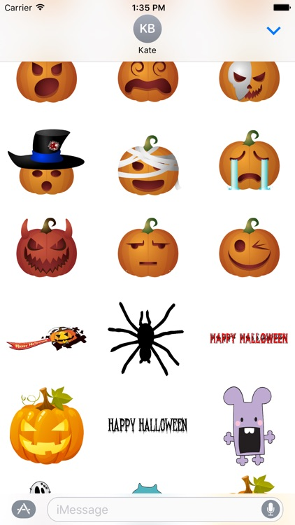 Halloween Stickers and Texts screenshot-2