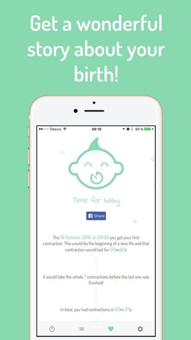 Screenshot for Baby tid - Veer timer in Denmark App Store
