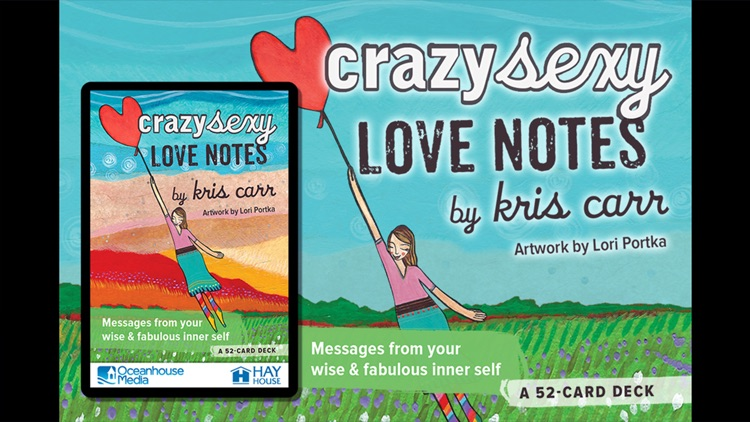 Crazy Sexy Love Notes - Kris Carr screenshot-0