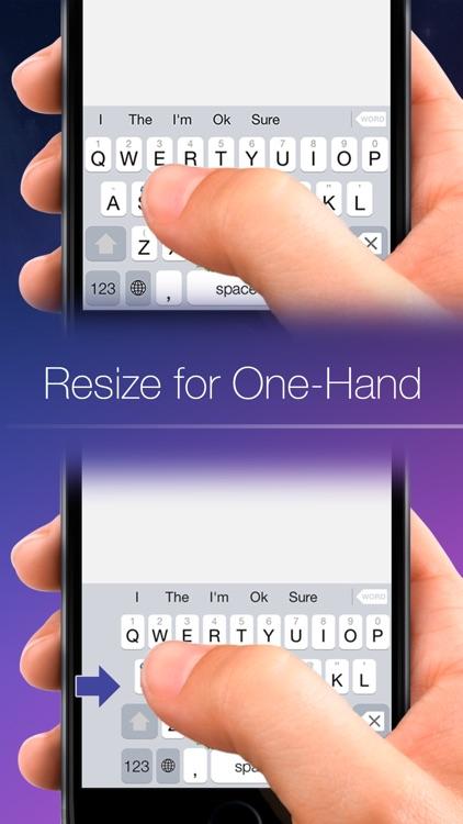 Blink Keyboard-one-hand, fast typing,emojiKeyboard