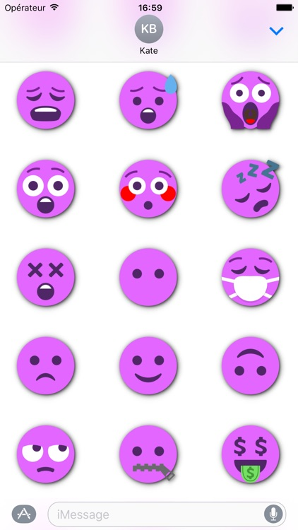 FUCHSIA Emoji • Stickers for iMessage screenshot-3