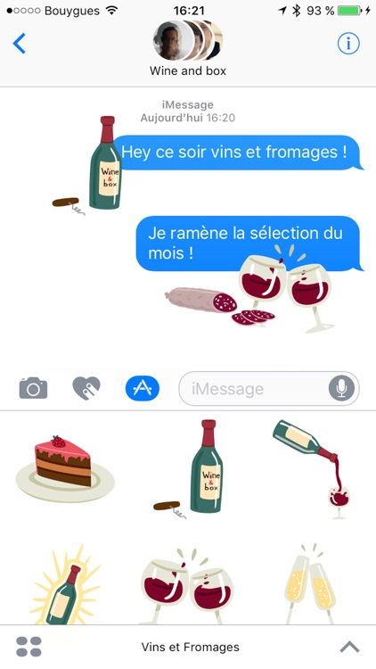 Vins et Fromages screenshot-0