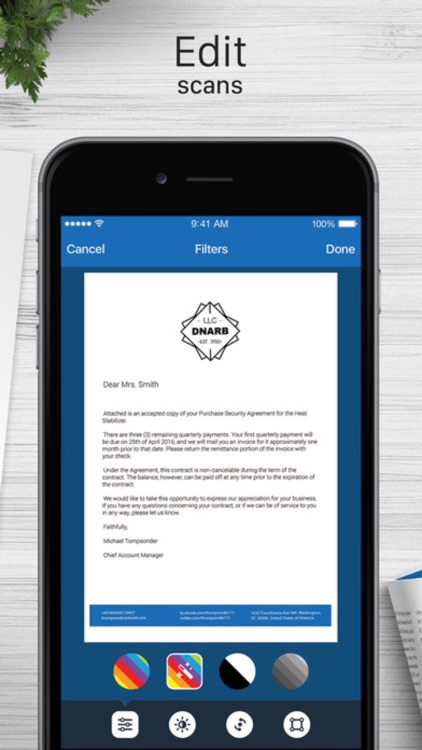Turbo Scanner - PDF Scanner for Documents Receipts screenshot-4