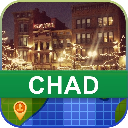 Offline Chad Map - World Offline Maps