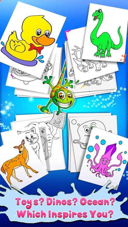 Kids Coloring Book - draw & paint Full Version screenshot-4