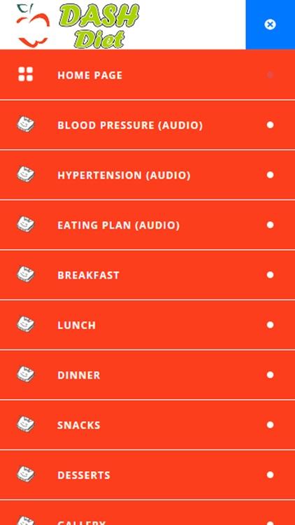 DASH Diet Plan for Healthy Weight Loss screenshot-3