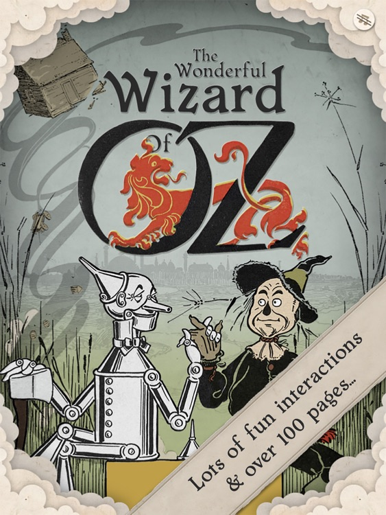The Wizard of Oz Interactive Children's Book
