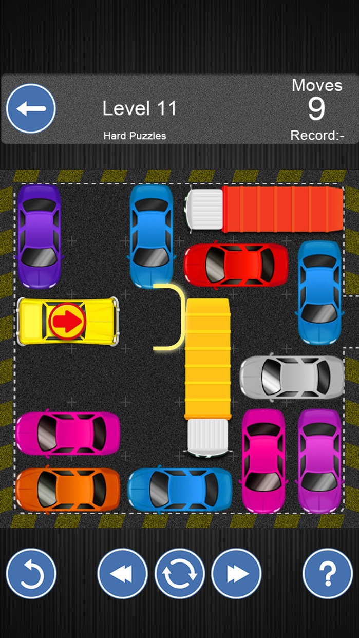 Unblock My Car -Move Out Road,Slides Game Screenshot