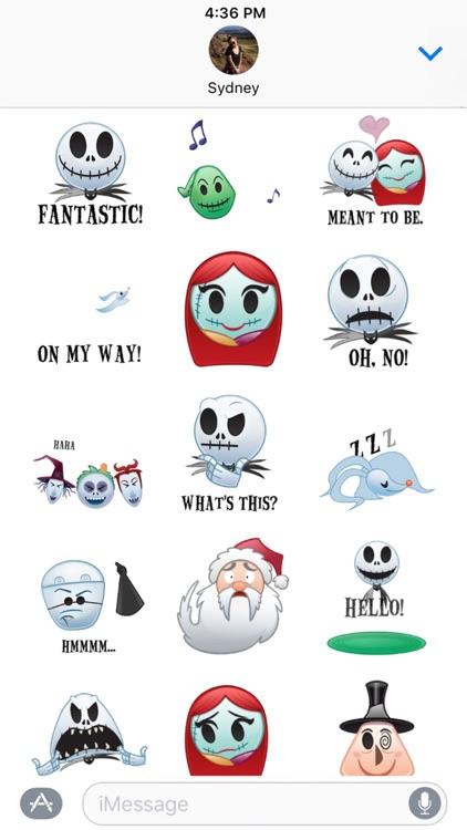 Disney Stickers: The Nightmare Before Christmas screenshot-3