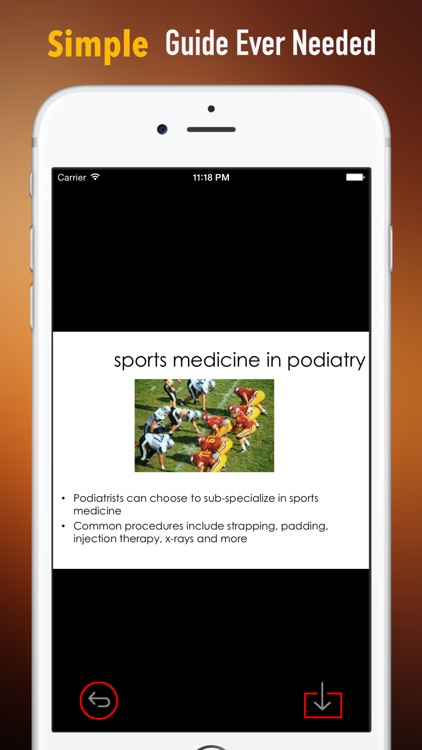 Sports Medicine Glossary:Study Guide and Courses