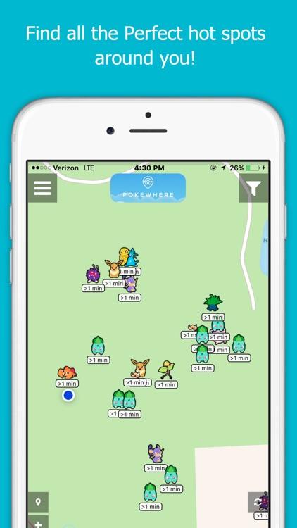 PokeWhere - Live Radar Map for Pokemon GO