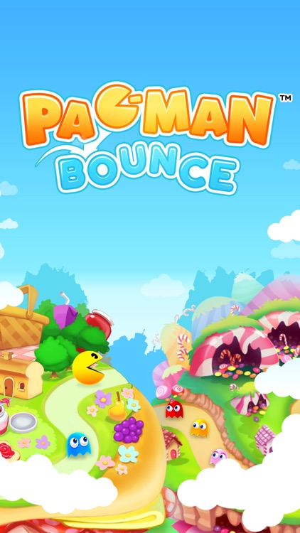 PAC-MAN Bounce - Puzzle Adventure screenshot-4