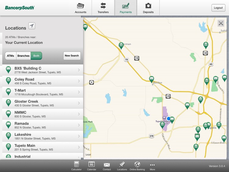 BancorpSouth Mobile for iPad screenshot-4