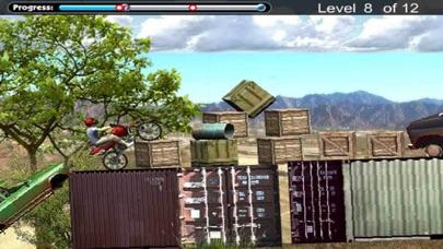 摩托车山地障碍物越野赛 App 截图