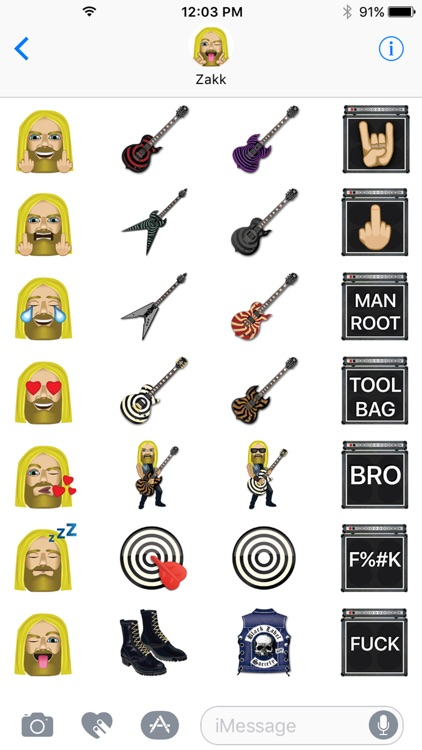 Zakk Wylde by Emoji Fame screenshot-2