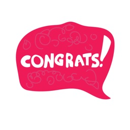 Congratulations! Stickers