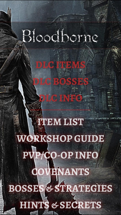 Game Guide for Bloodborne