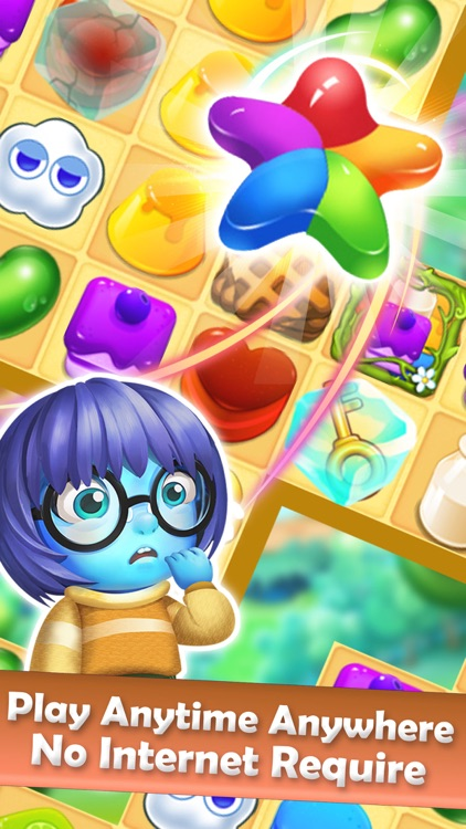 Jelly Heroes Mania - Candy Match 3 Game screenshot-4