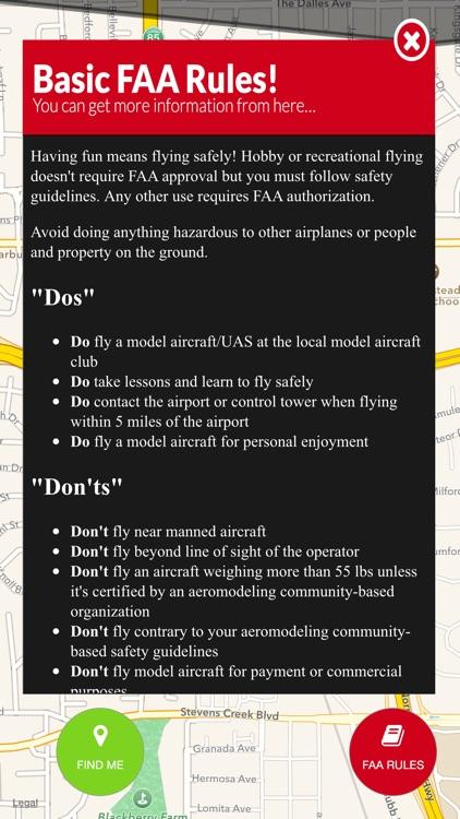 UAV Zones - Drone and UAV no-fly zone maps screenshot-3