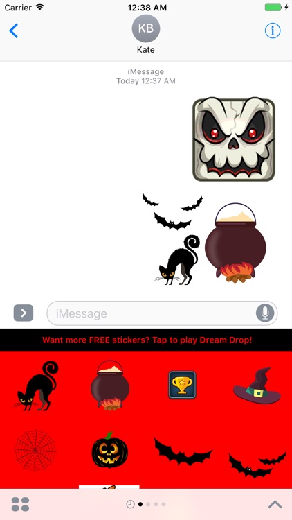 Halloween Stickers from Dream Drop