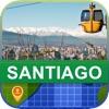 オフラインて サンティアコ、チリ マッフ - World Offline Maps