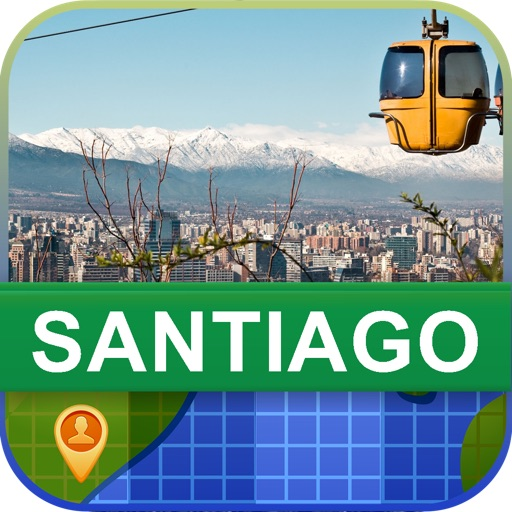 Offline Santiago, Chile Map - World Offline Maps
