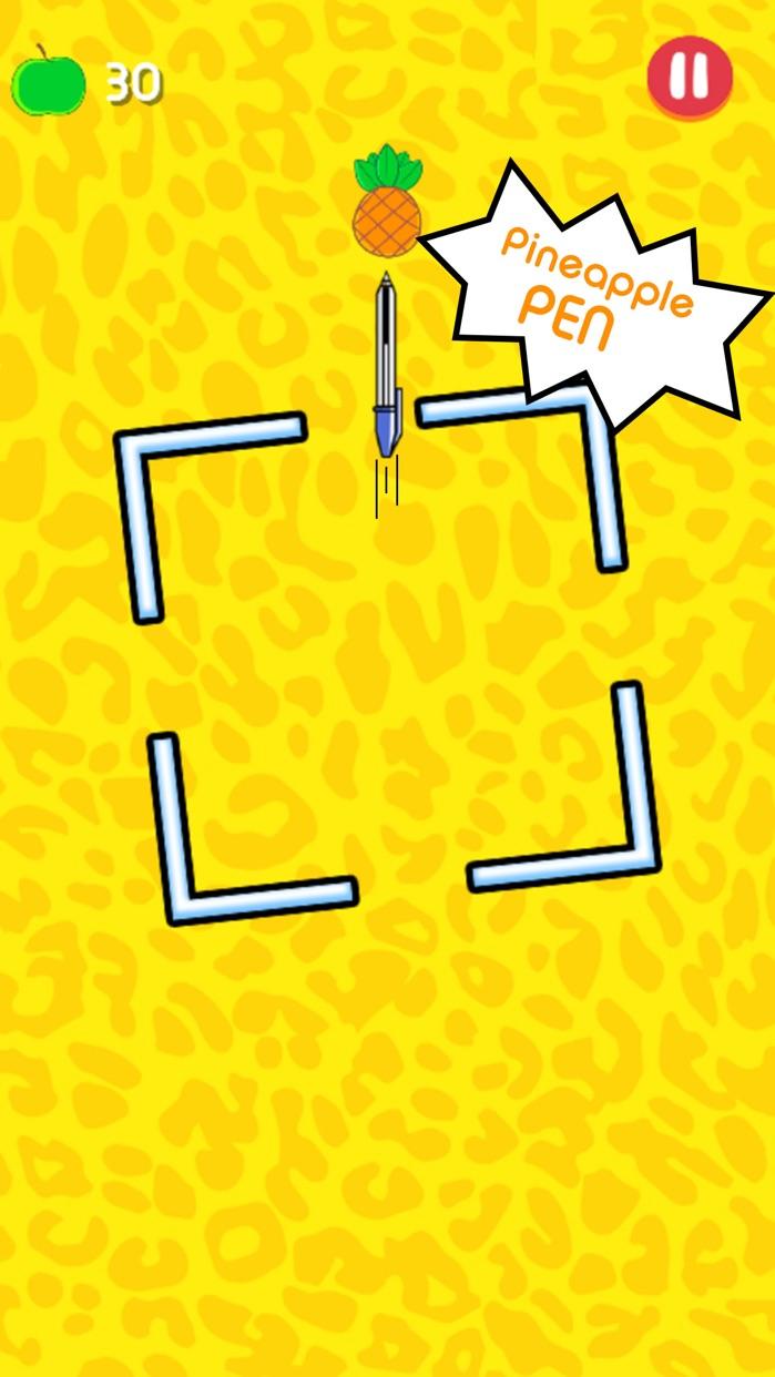 Pineapple Pen - Flicky Shot! Screenshot
