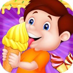 Dessert Ice Cream Factory - Cooking Ice Cream Game