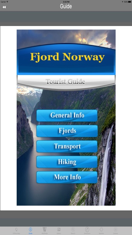 Norwegian fjords Tourist Travel Guide screenshot-3