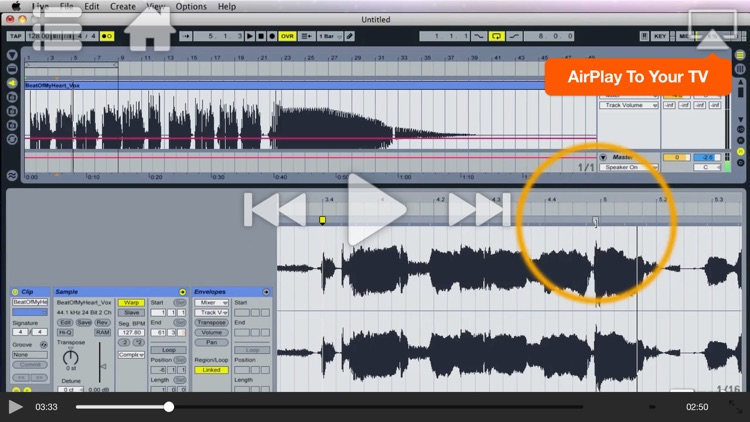 Course For Live 8 Remixing screenshot-3