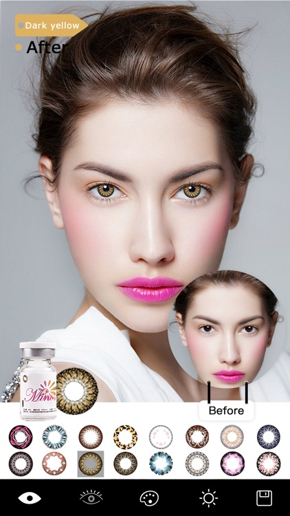 Magic Eye Color-Face Makeup Plus&Red Eyes Remover screenshot-3