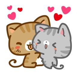 Meow Town Sticker