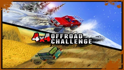 4X4 Offroad Challenge  - 3D Maximum Hill Climb Carのおすすめ画像5