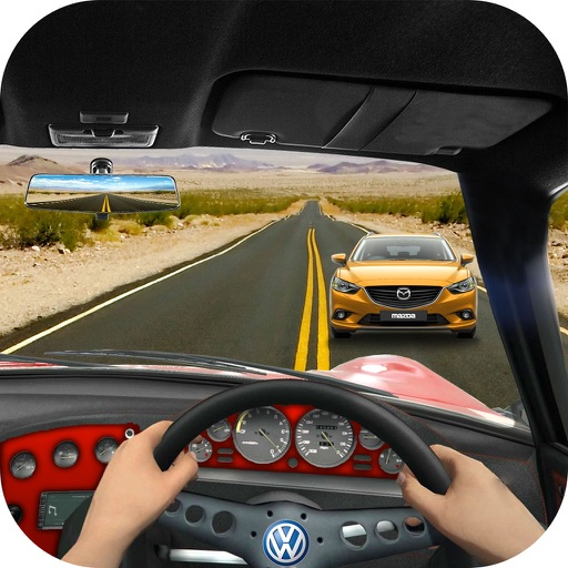 Race In Car 3D : Most wanted Speed Racing Game icon