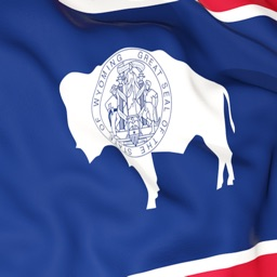 Wyoming Flag Stickers