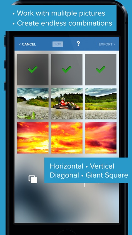 Giant Square for Instagram, Twitter and Facebook!