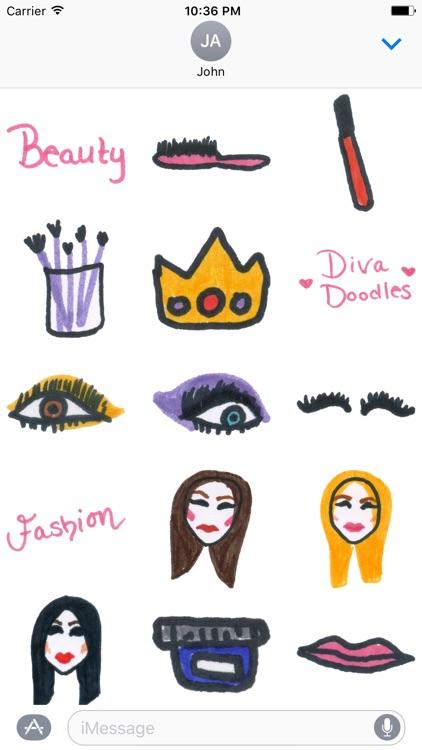 Makeup Diva Doodles
