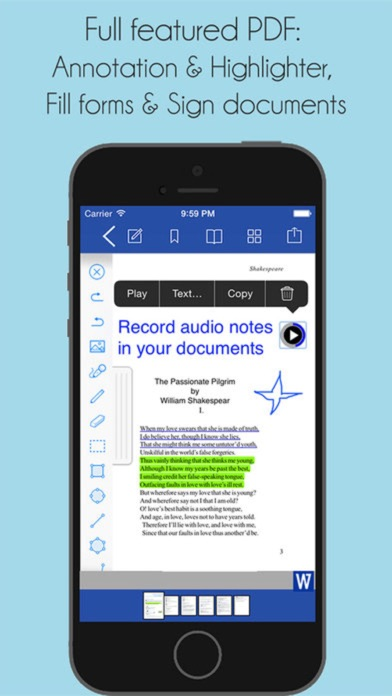 Word Documents review screenshots
