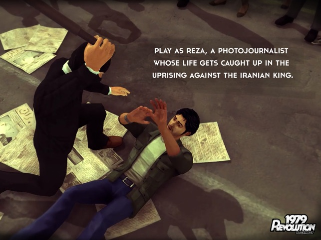 1979 Revolution: A Cinematic Adventure Game Screenshot