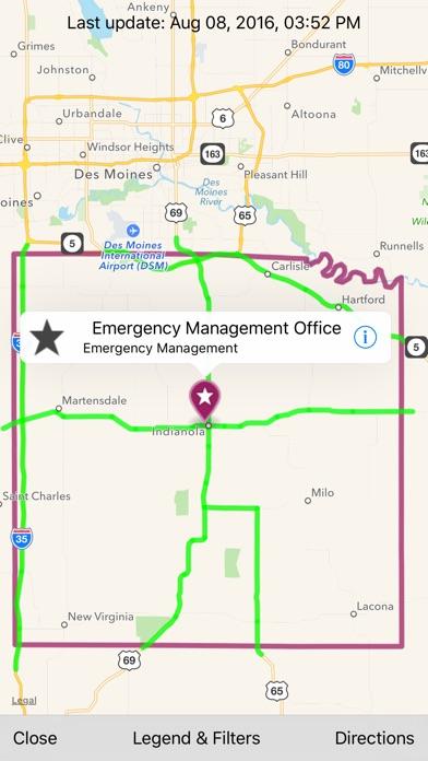 Warren County Iowa Map.Warren County Ia Community App Price Drops
